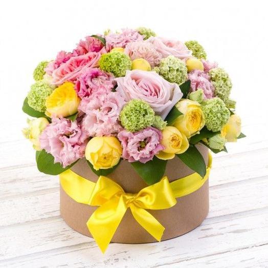 "Цветочная композиция ""Утро Афродиты"": букеты цветов на заказ Flowwow"