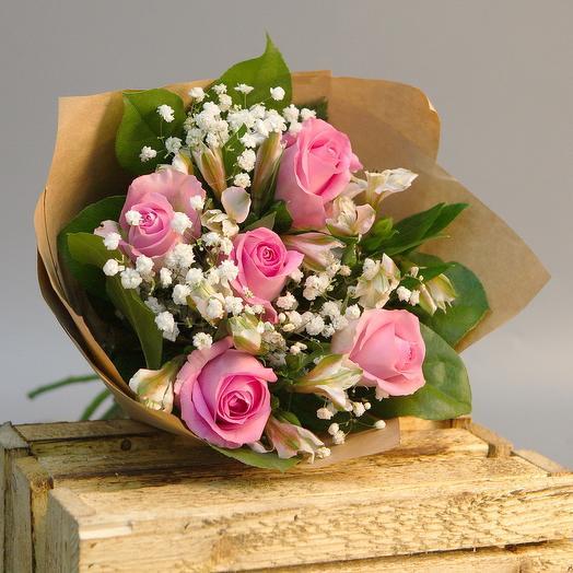 Воздушная нежность: букеты цветов на заказ Flowwow