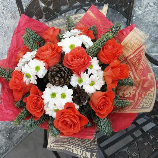 """Букет """"Яркий праздник"""": букеты цветов на заказ Flowwow"""