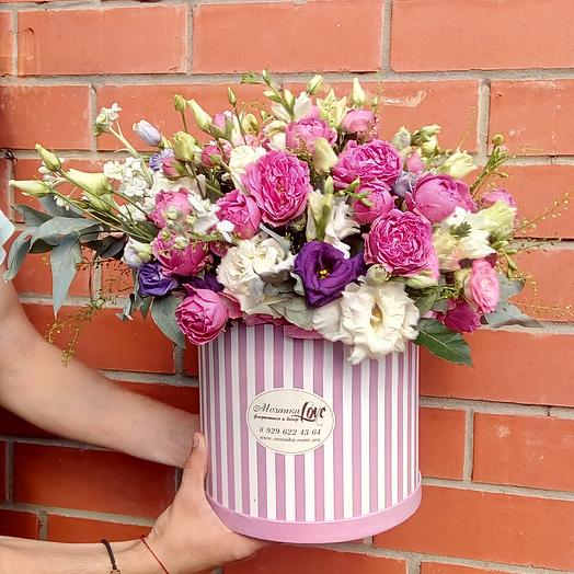 Влюбленная парочка: букеты цветов на заказ Flowwow