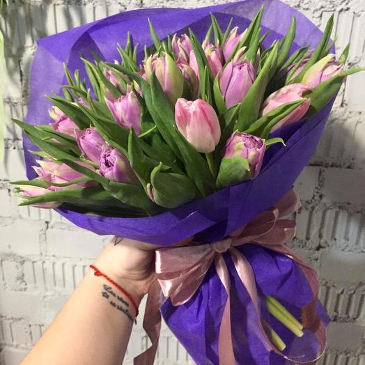 Тюльпаны 49: букеты цветов на заказ Flowwow