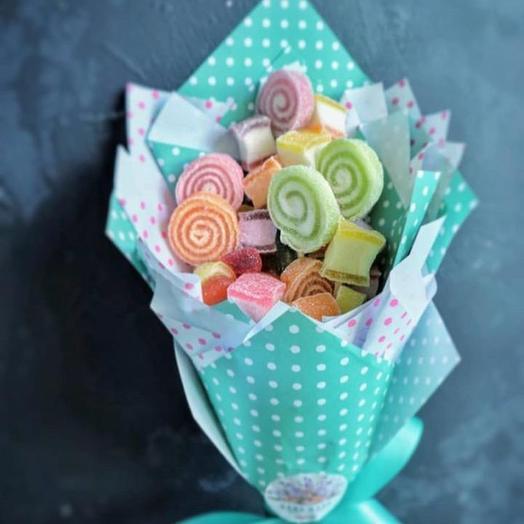 Сладкий букет «леденец»: букеты цветов на заказ Flowwow