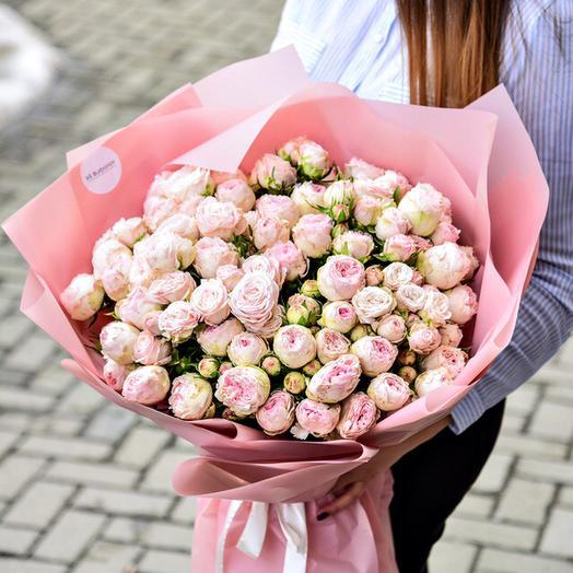 Пионовидная нежность: букеты цветов на заказ Flowwow