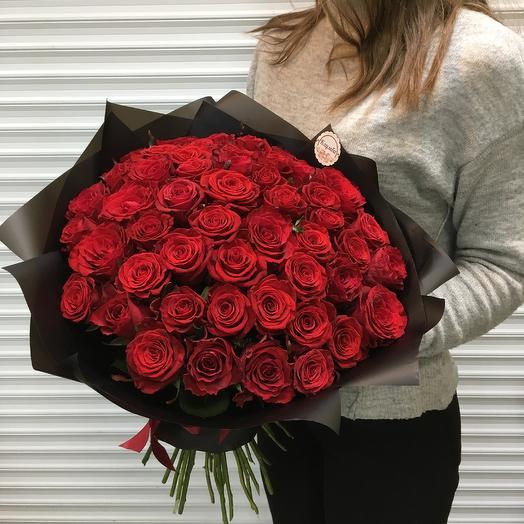 Букет «в ТОПе» 51 розы