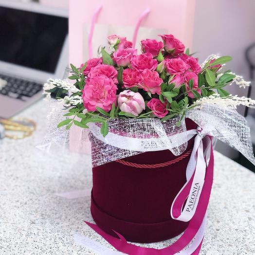 Коробка 21: букеты цветов на заказ Flowwow