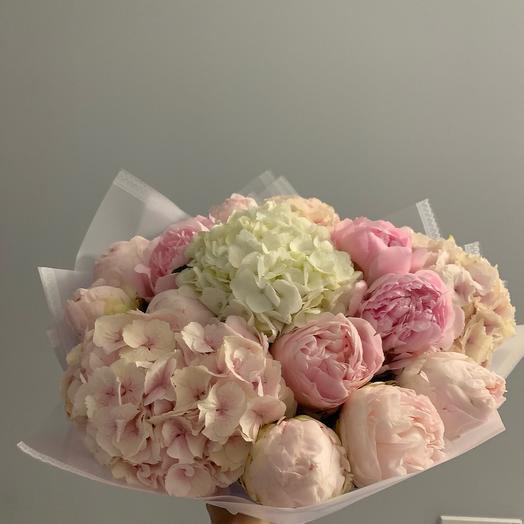 Зефирная нежность: букеты цветов на заказ Flowwow