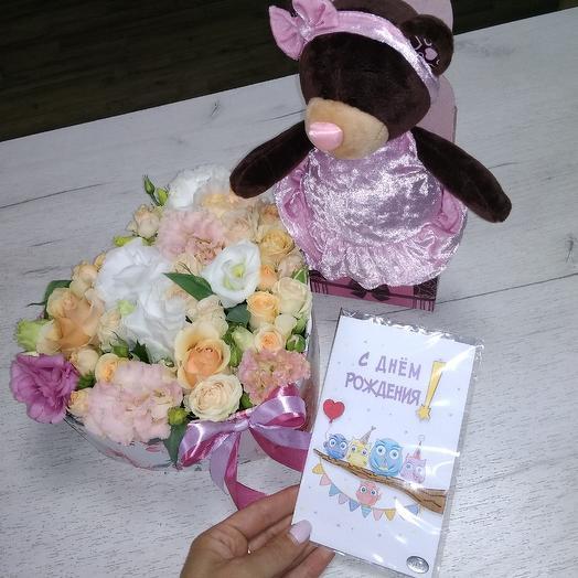 Подарок на день рождения: букеты цветов на заказ Flowwow