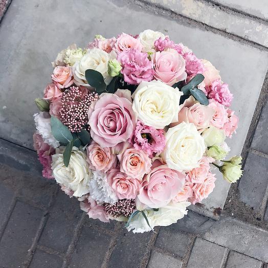 Цилиндр Пинк: букеты цветов на заказ Flowwow