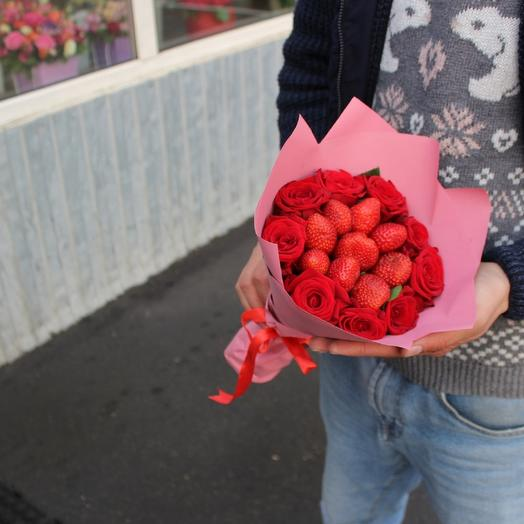 Фруктовый комплимент: букеты цветов на заказ Flowwow