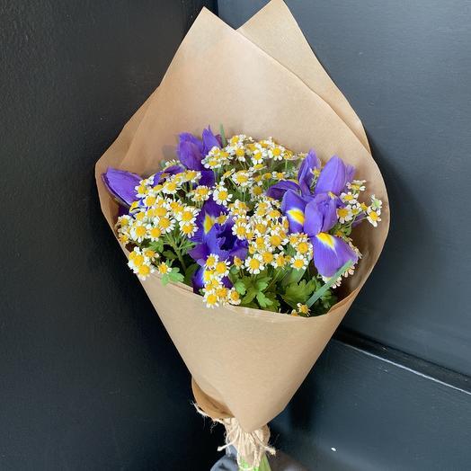 Полевой роман: букеты цветов на заказ Flowwow