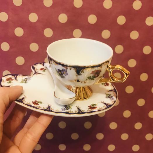 Чайная пара: букеты цветов на заказ Flowwow
