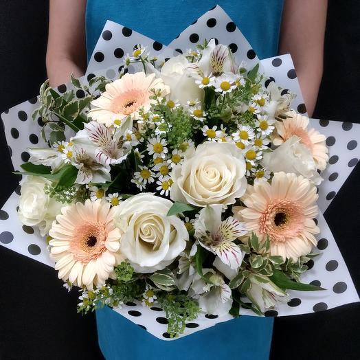 Букет Кокетка: букеты цветов на заказ Flowwow