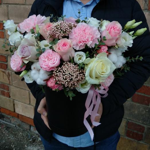 Коробка дня: букеты цветов на заказ Flowwow