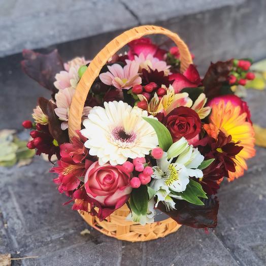 Корзиночка цветов