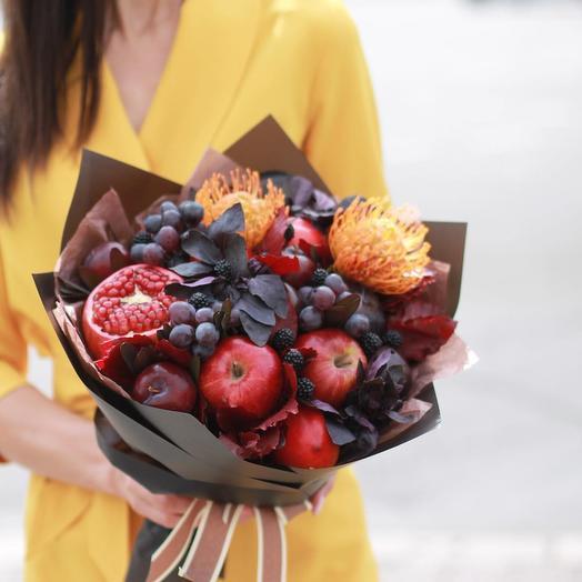 Осенний туман: букеты цветов на заказ Flowwow