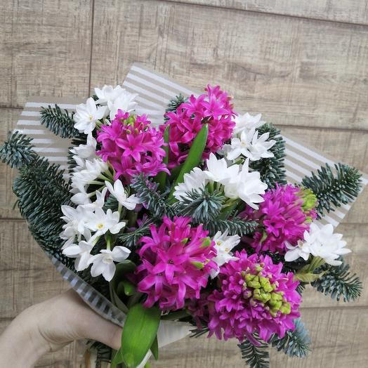 Ароматный букет для солнечного настроения: букеты цветов на заказ Flowwow