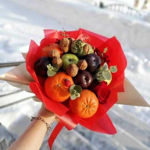 Мандаринки: букеты цветов на заказ Flowwow