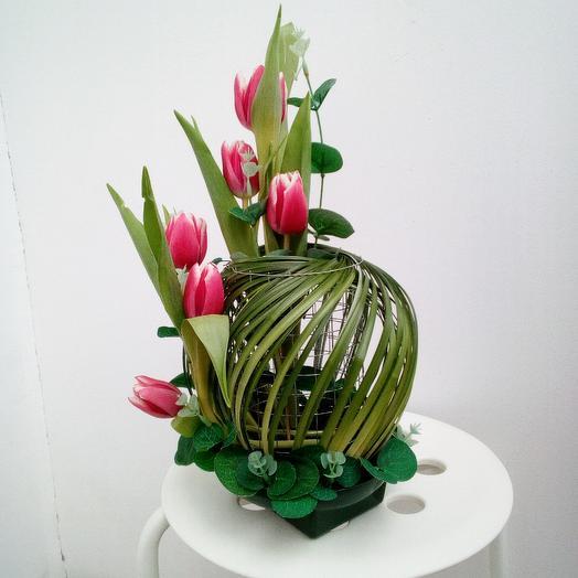 Планета любви: букеты цветов на заказ Flowwow