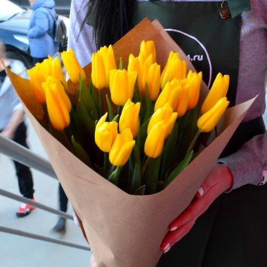 29 Тюльпанов в крафте