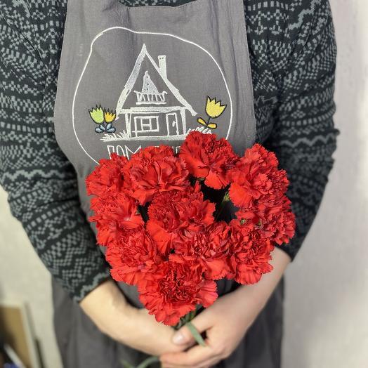 Букет День Победы из 15 гвоздик: букеты цветов на заказ Flowwow