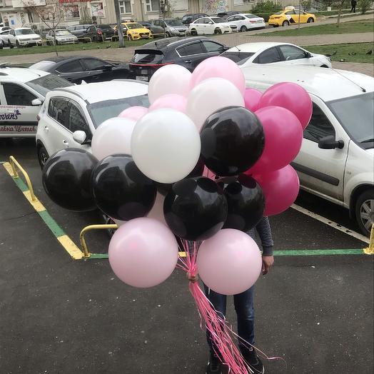 30 воздушных шаров