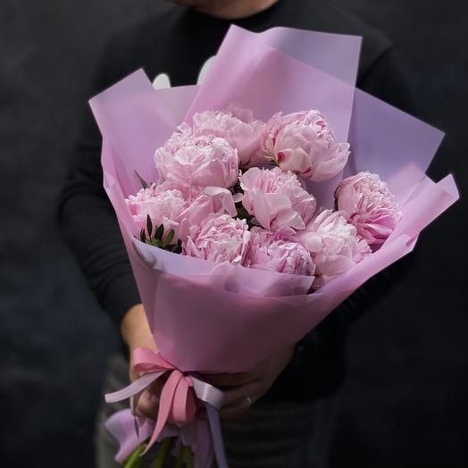 Букет «Пионовое изобилие»: букеты цветов на заказ Flowwow