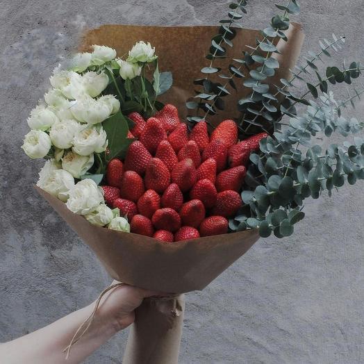 Восторг и сладость: букеты цветов на заказ Flowwow
