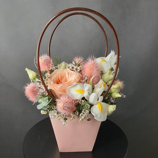 Клубничный Зефир🌸: букеты цветов на заказ Flowwow