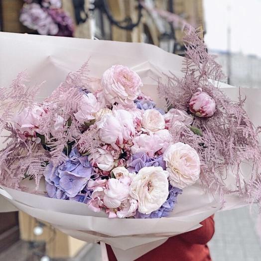 """Букет цветов """"Нежный зефир"""""""
