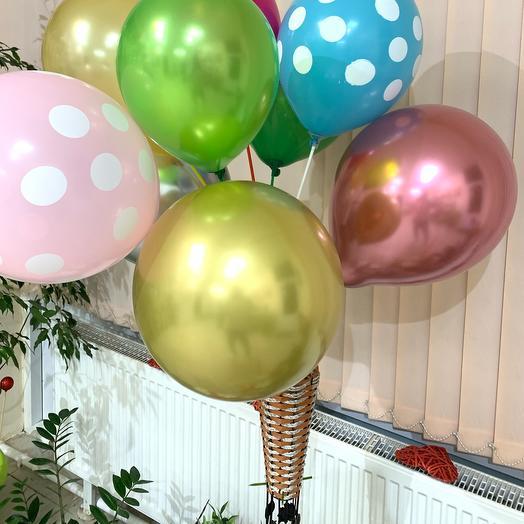 Воздушные шары на палочке🎈