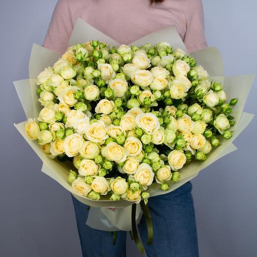 """Букет из 25 кустовых роз """"Olga"""""""