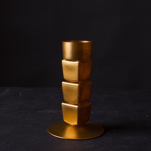 """Подсвечник """"Энгус"""", золото"""