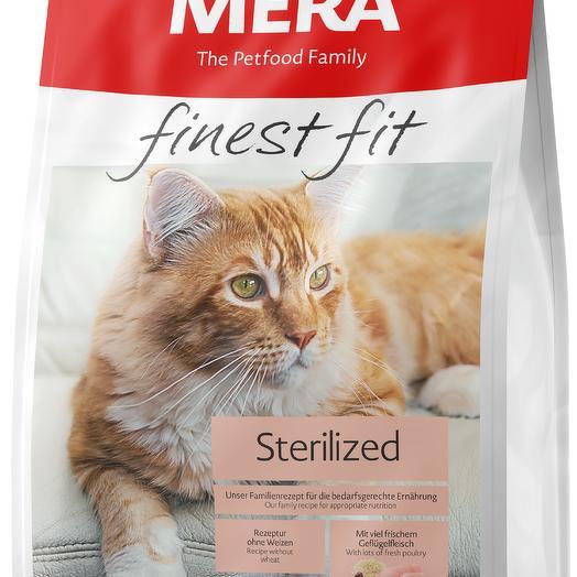 Сухой корм MERA FINEST FIT STERILIZED для взрослых стерилизованных/кастрированных кошек 10 кг