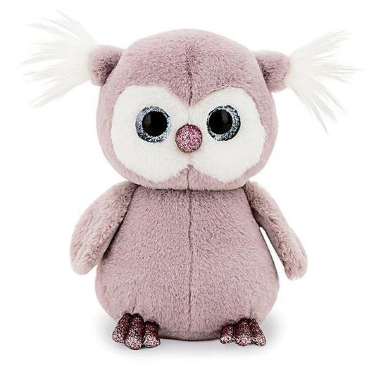 Мягкая игрушка «Совёнок» цвет сиреневый 35 см