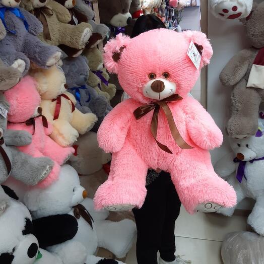 Мишка Розовый