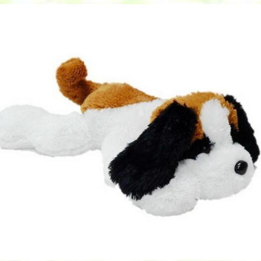 Собака Тоби 50см бело-рыжий