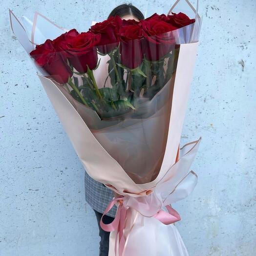 Роза Голландия премиум