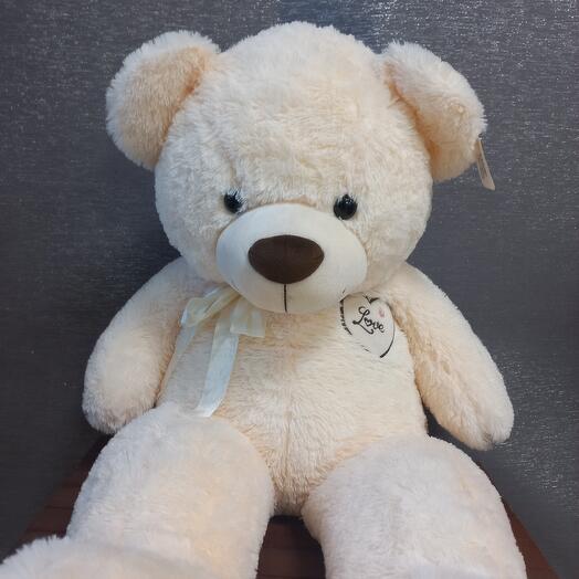 Большой милый мягкий медведь
