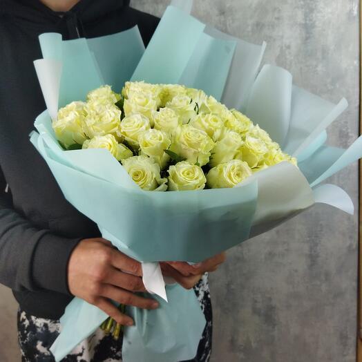 Букет из 51 ароматной розы