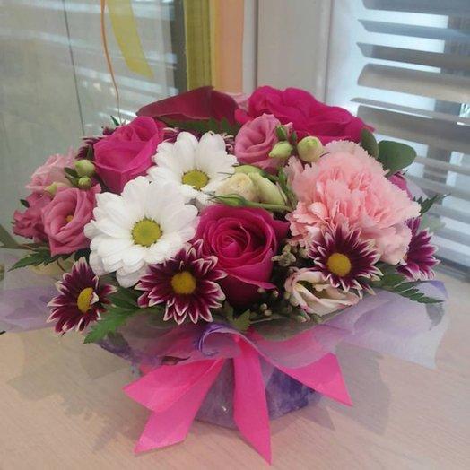 Мини композиция: букеты цветов на заказ Flowwow