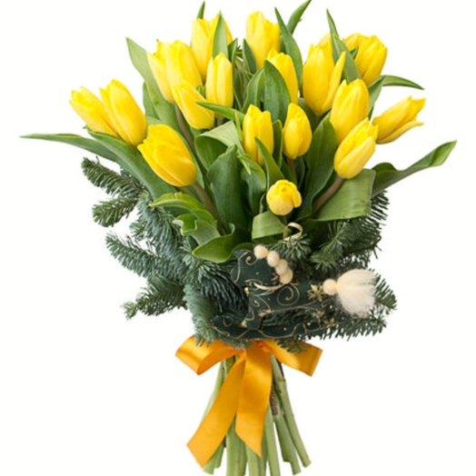 Строг Голд: букеты цветов на заказ Flowwow