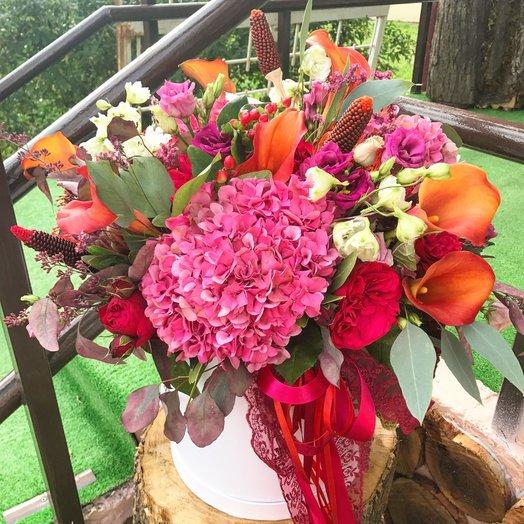Осенний романс: букеты цветов на заказ Flowwow