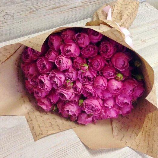 31 Кустовая Пионовидная Роза