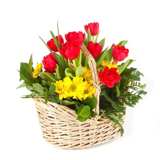 Композиция «Весенняя феерия»: букеты цветов на заказ Flowwow