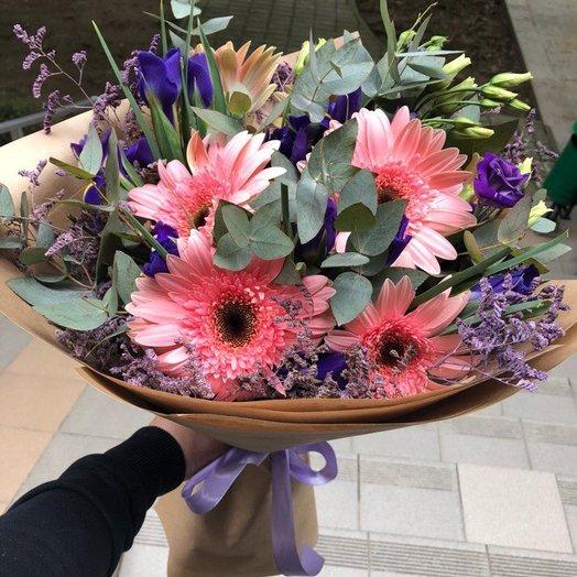Розовое пралине: букеты цветов на заказ Flowwow