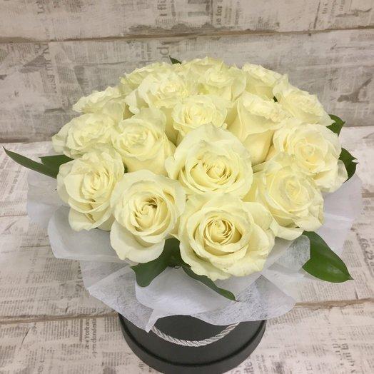 Стильная коробочка: букеты цветов на заказ Flowwow
