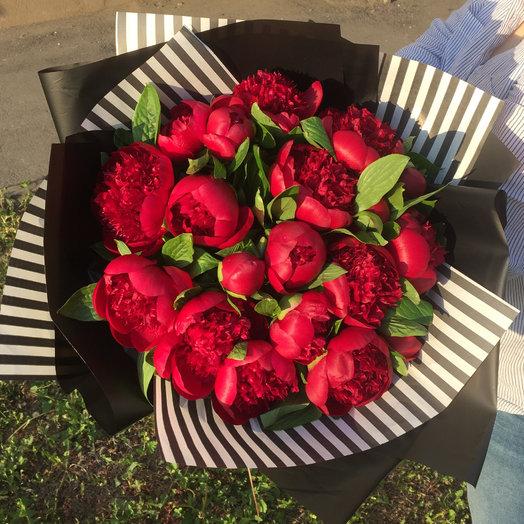 Непревзойденные пионы : букеты цветов на заказ Flowwow