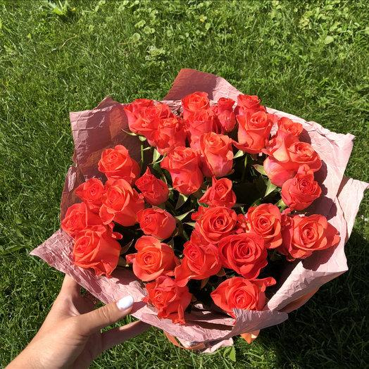 29 роз солнца: букеты цветов на заказ Flowwow