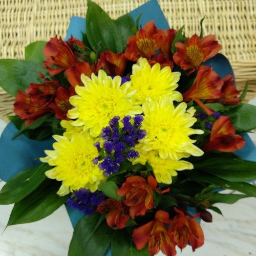 """Букет  """"Яркая осень"""": букеты цветов на заказ Flowwow"""