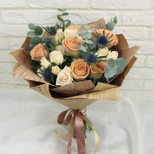 Кофеный бум: букеты цветов на заказ Flowwow